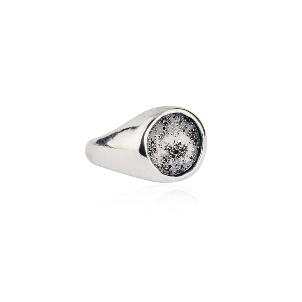 silver initial ring personalised by jewellery van product signet original vanbuskirkjewellery buskirk
