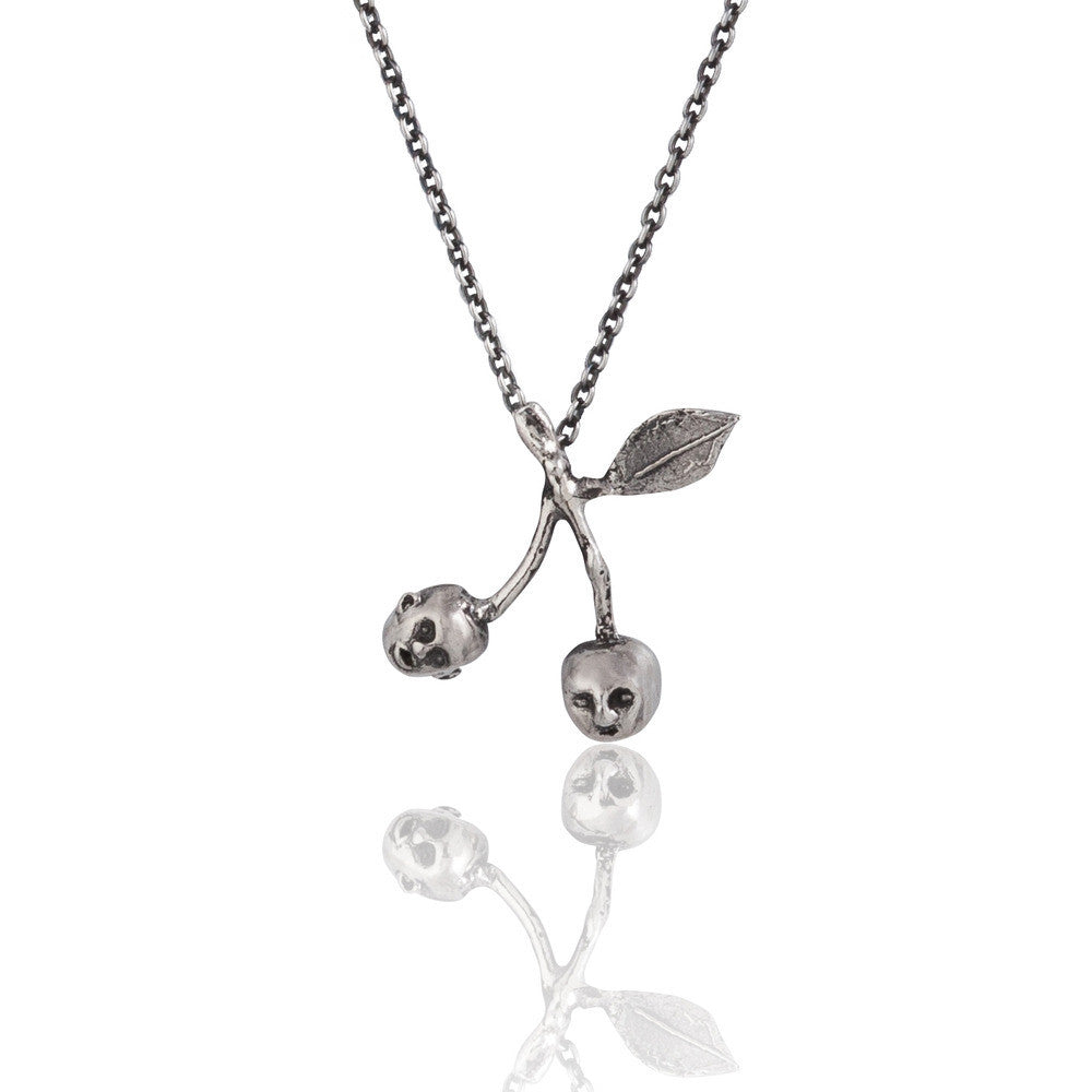 Cherry Brothers Necklace Silver Product Shot Main