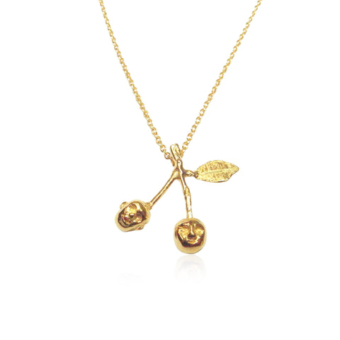 Cherry Brothers Necklace Gold