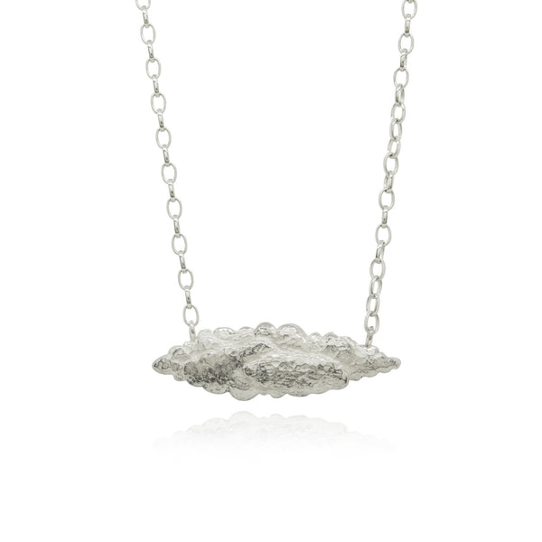 Long clouds necklace