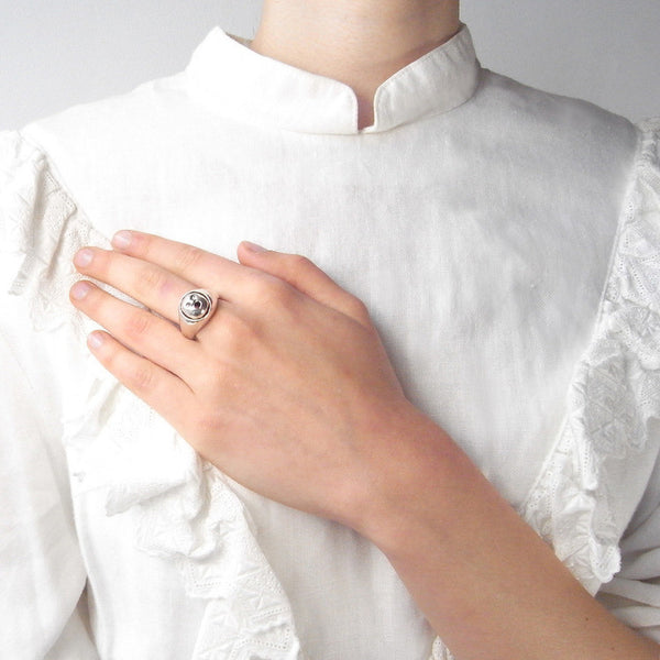 Spirit of Love Ring on Model