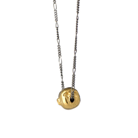 Spirit Of Love Single Pendant Gold Product Shot Main