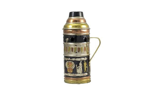 Shishagear Egyptian Shisha Wind Cover Gold Black - shishagear london uk