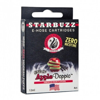 Starbuzz E-Hose Cartridge Apple Doppio - shishagear london uk