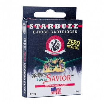Starbuzz E-Hose Cartridge Green Savior - shishagear london uk