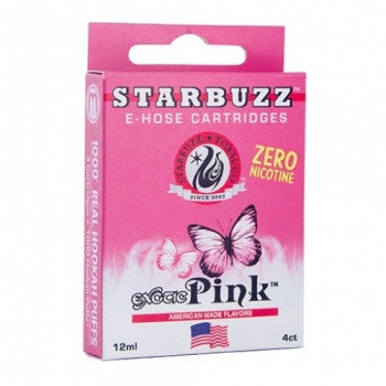 Starbuzz E-Hose Cartridge Pink - shishagear london uk