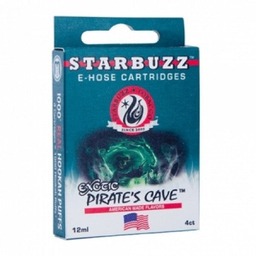 Starbuzz E-Hose Cartridge Pirate's Cave - shishagear london uk