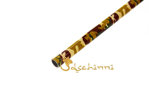 Dschinni Aluminium Soldier Tan Earth Mouthpiece