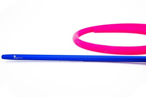 Dschinni Candyhose Pink with Aluminium Mouthpiece Blue