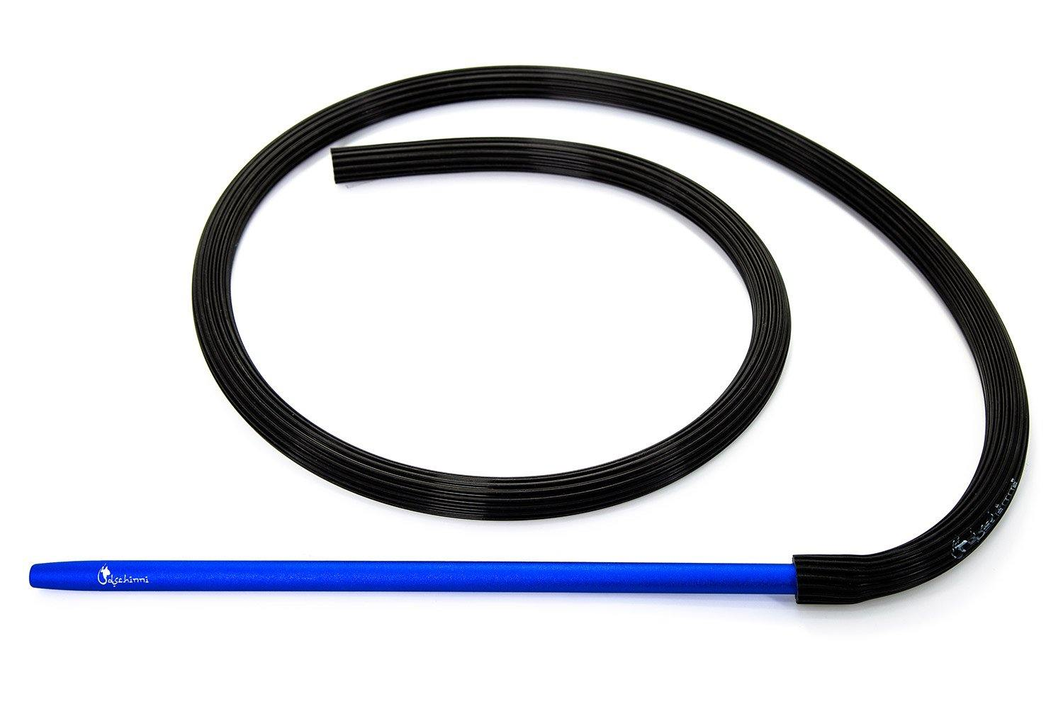 Dschinni Candyhose Black with Aluminium Blue Mouthpiece