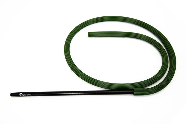 Dschinni Candyhose Camo Green with Aluminium Black Mouthpiece
