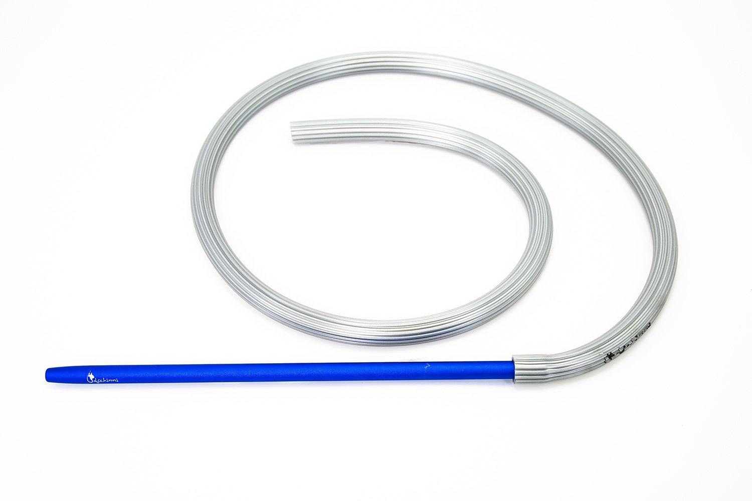 Dschinni Candyhose Silver with Aluminium Blue Mouthpiece