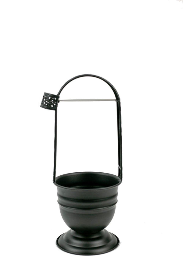 Dschinni Coal Basket Holder Compact - Black