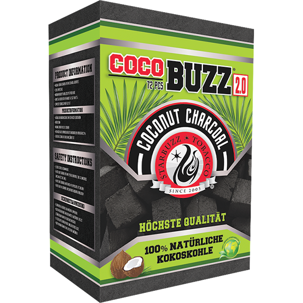 Starbuzz Cocobuzz 2.0 Natural Coconut Shisha Charcoal