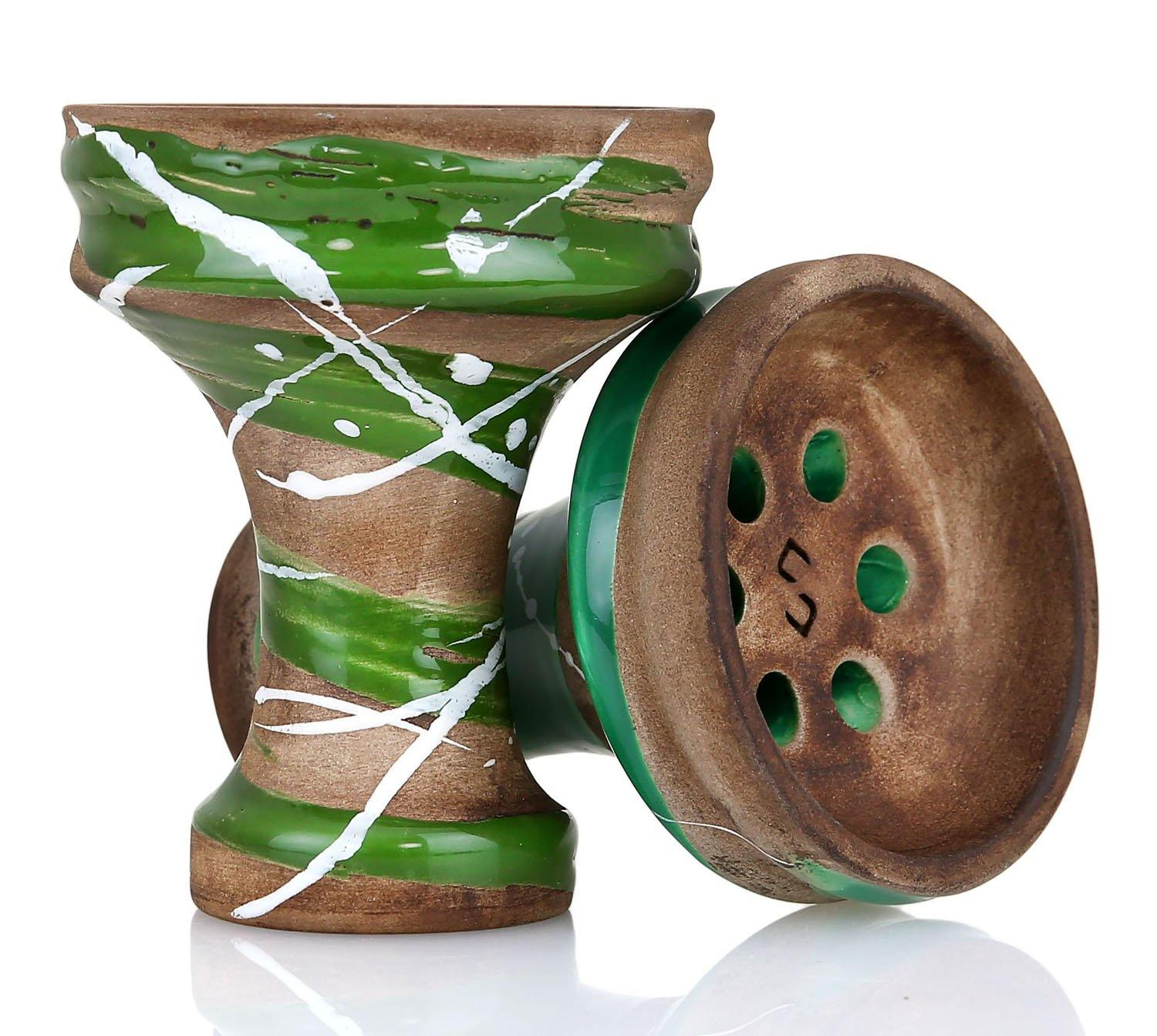Conceptic Design Killer Shisha Bowl - Green - shishagear - UK