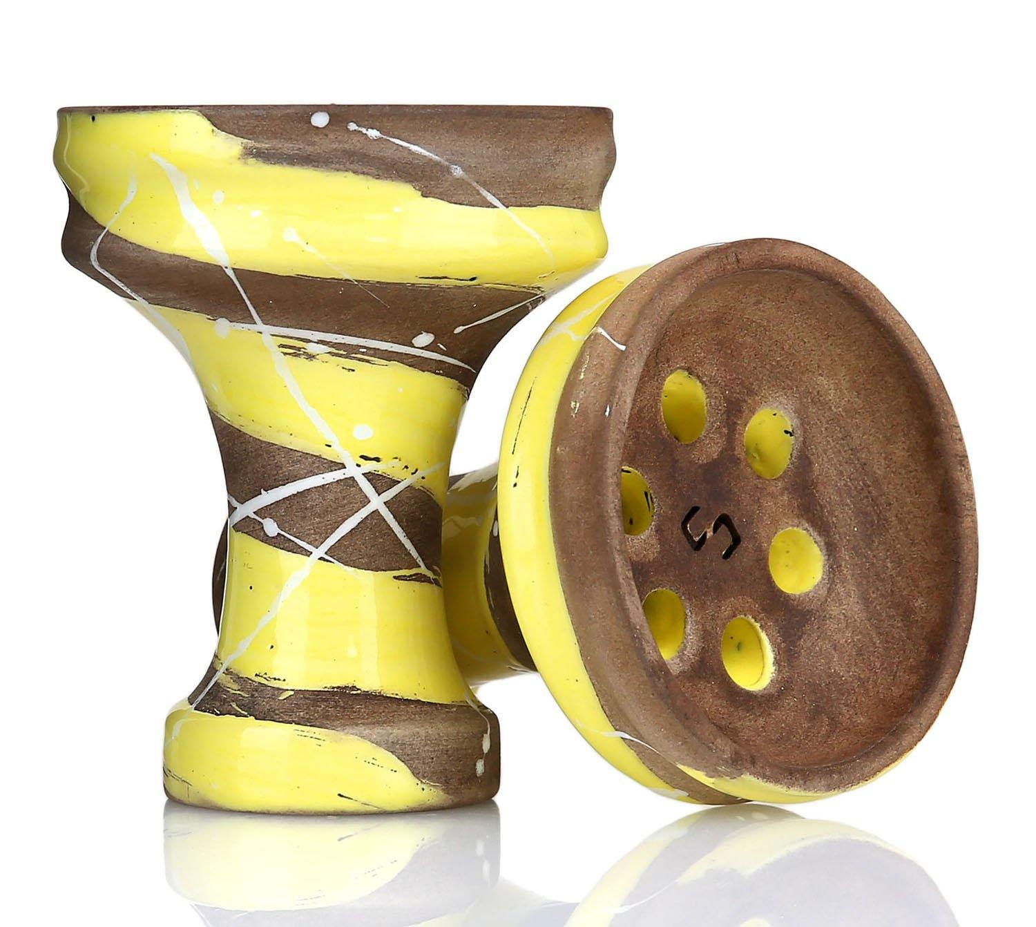 Conceptic Design Killer Shisha Bowl - Yellow - shishagear - UK