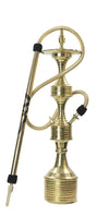 Shishagear SV Traditional Gold Decorative Hookah Shisha Set