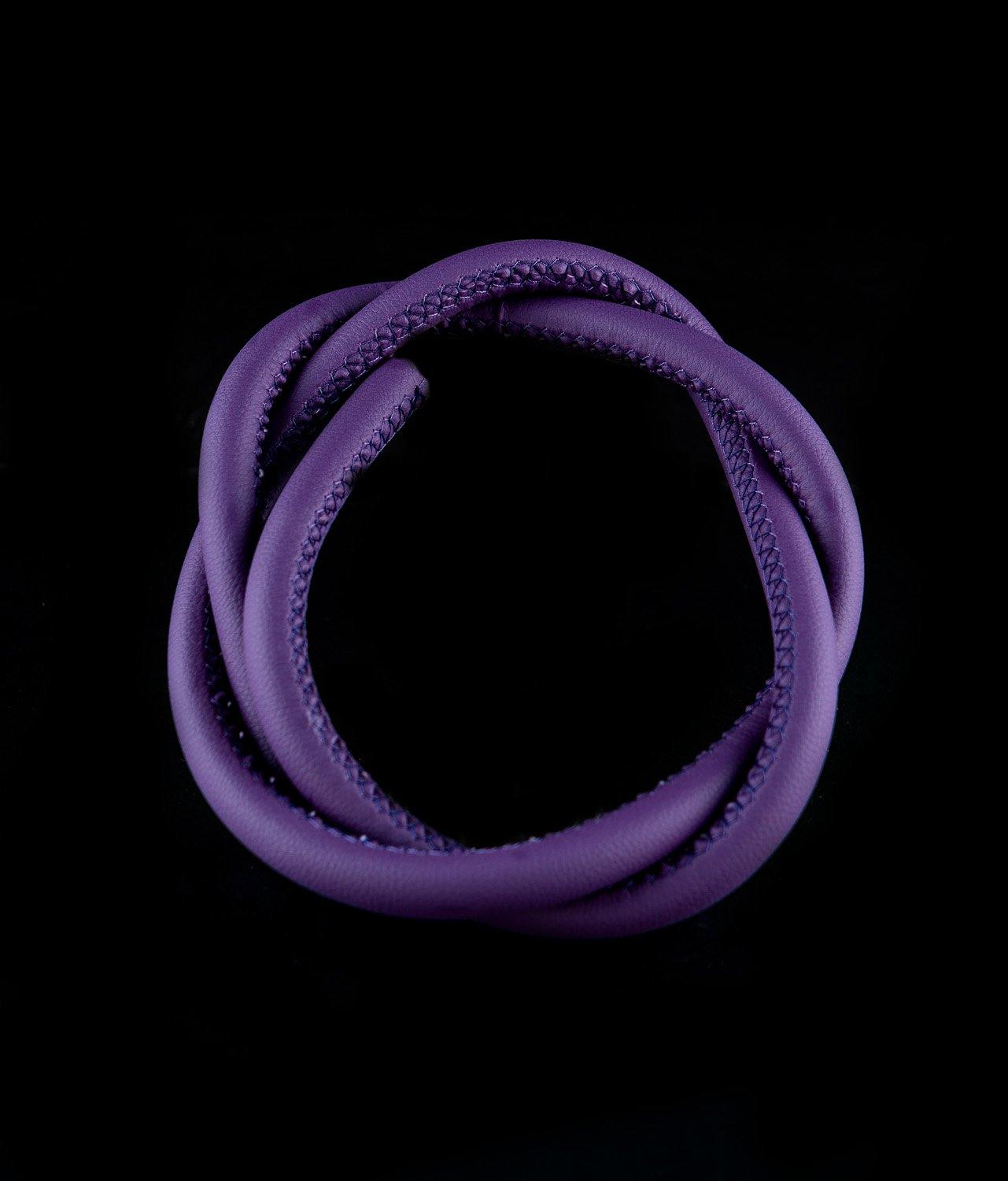 Dschinni Leather Hose Purple