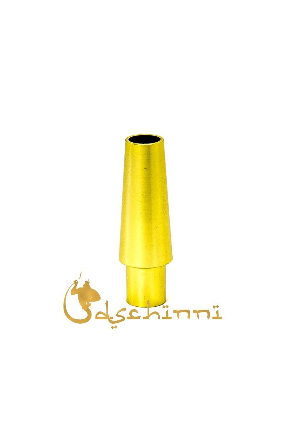 Dschinni Hose End Piece For Silicone Tubes Gold