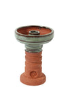 HJ Red Clay Harmony Hookah Bowl - shishagear london uk