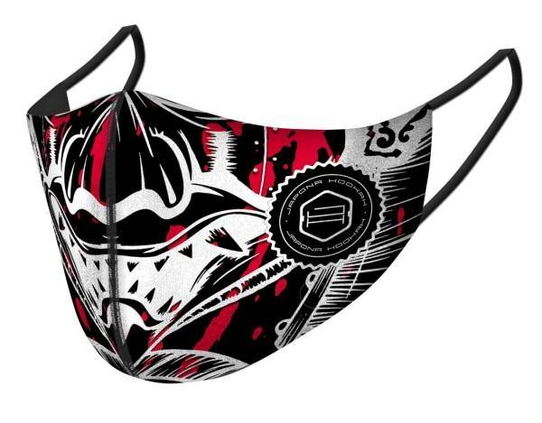 Japona Hookah Face Mask - Samurai Red - shishagear - UK