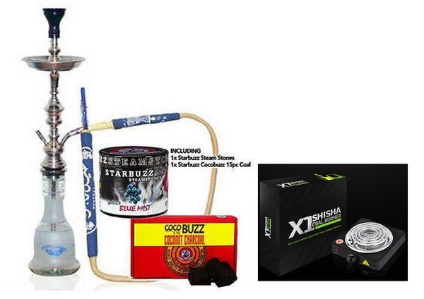 "Khalil Mamoon Cafe 28"" Starter Kit with X1 Coal Burner"