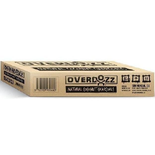 OverDozz Natural Coconut Charcoal 26mm 10kg - shishagear - UK