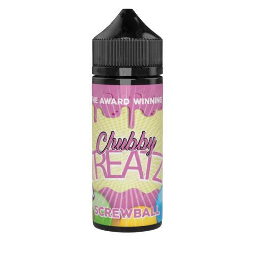 Screwball By Chubby Treatz 100ml Shortfill - shishagear - UK