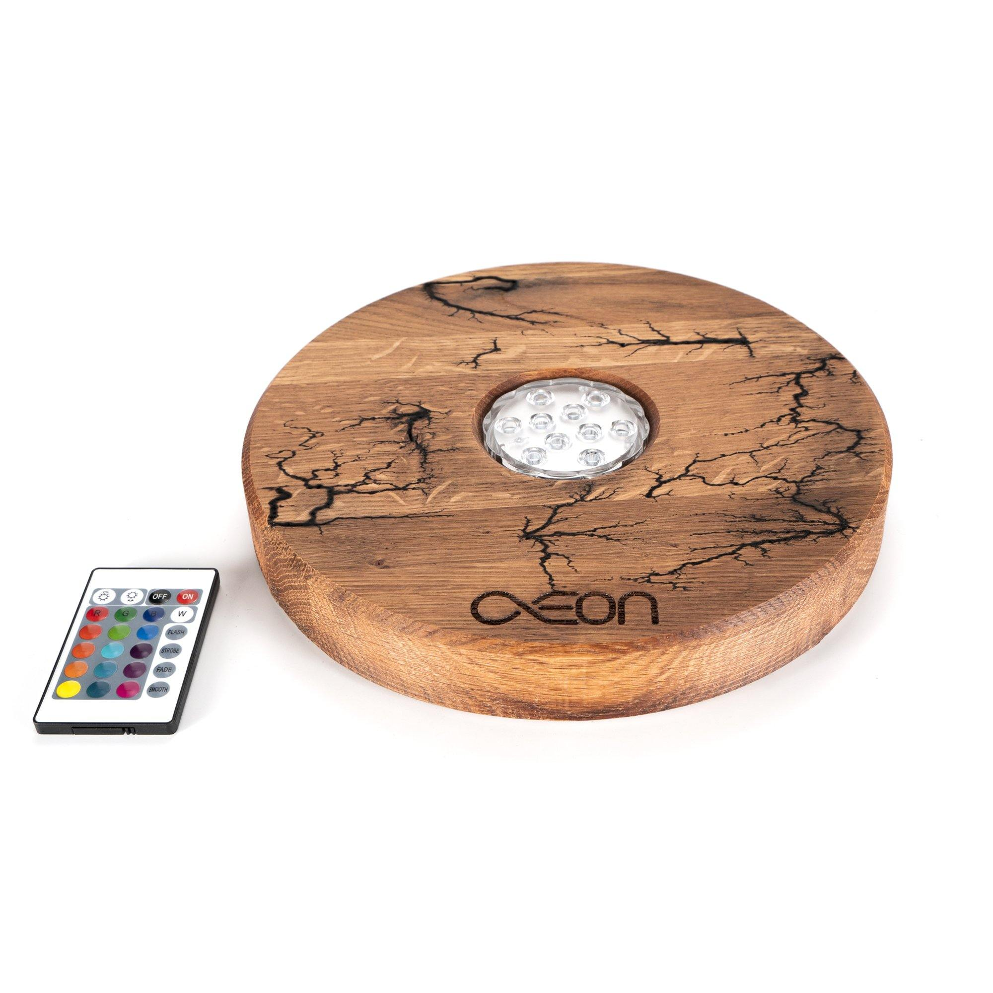 Aeon x Shisha LED Board - Oak Volt - shishagear - UK