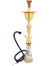 Khalil Mamoon Cafe ICE Gold Hookah Set