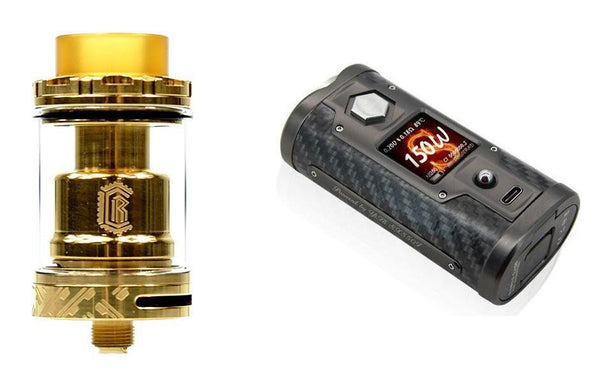 YiHi Sx Mini G Class 200w Carbon Mod with Reload Vapour RTA 24mm Tank