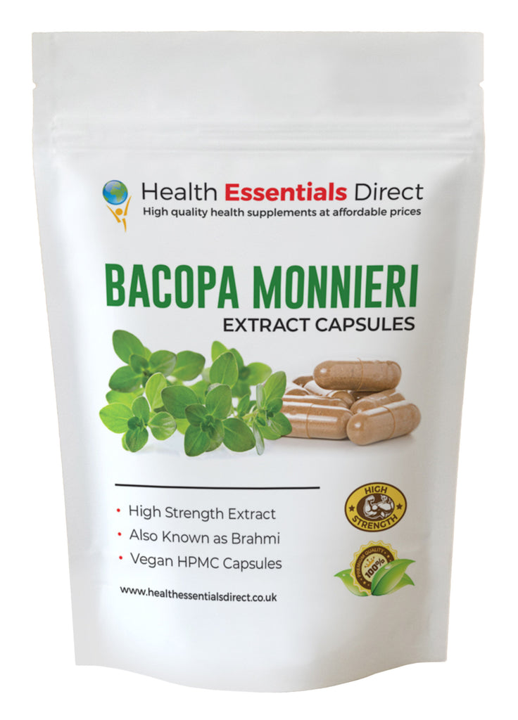 Bacopa Monnieri (Brahmi) Extract COMPLEX Capsules