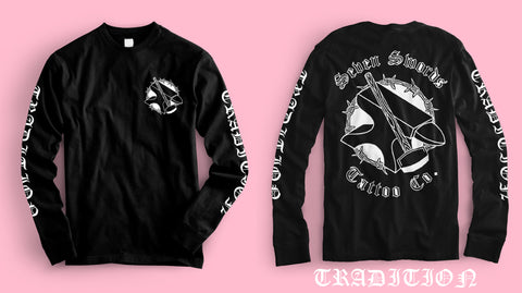 "SHIRT ONLY - ""Anvil"" Seven Swords Tattoo Co Long Sleeve"