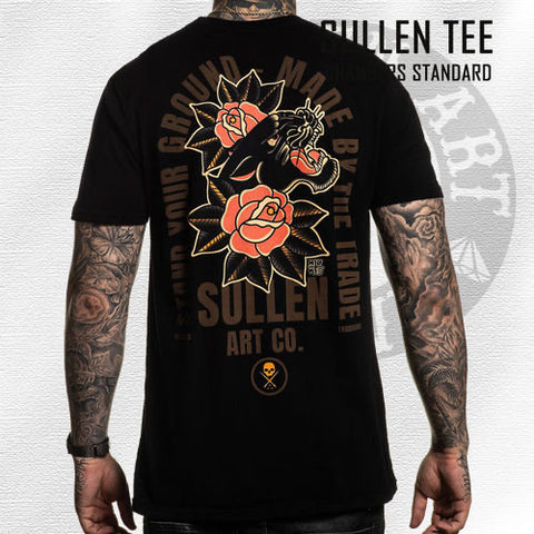 Sullen BLACK Myke Chambers Panther Shirt