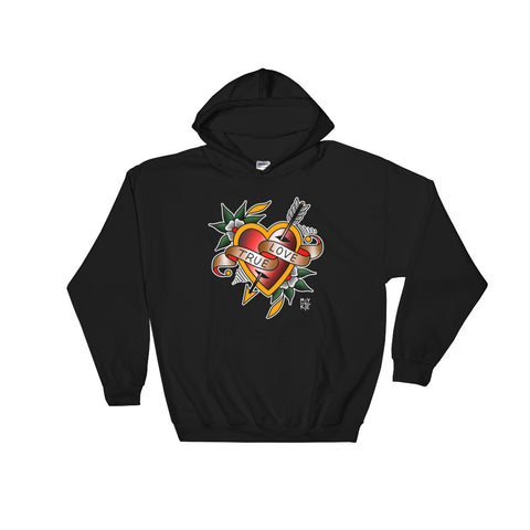 """True Love"" Pullover Hooded Sweatshirt"