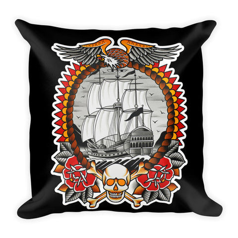 Ship Pillow designed by Myke Chambers