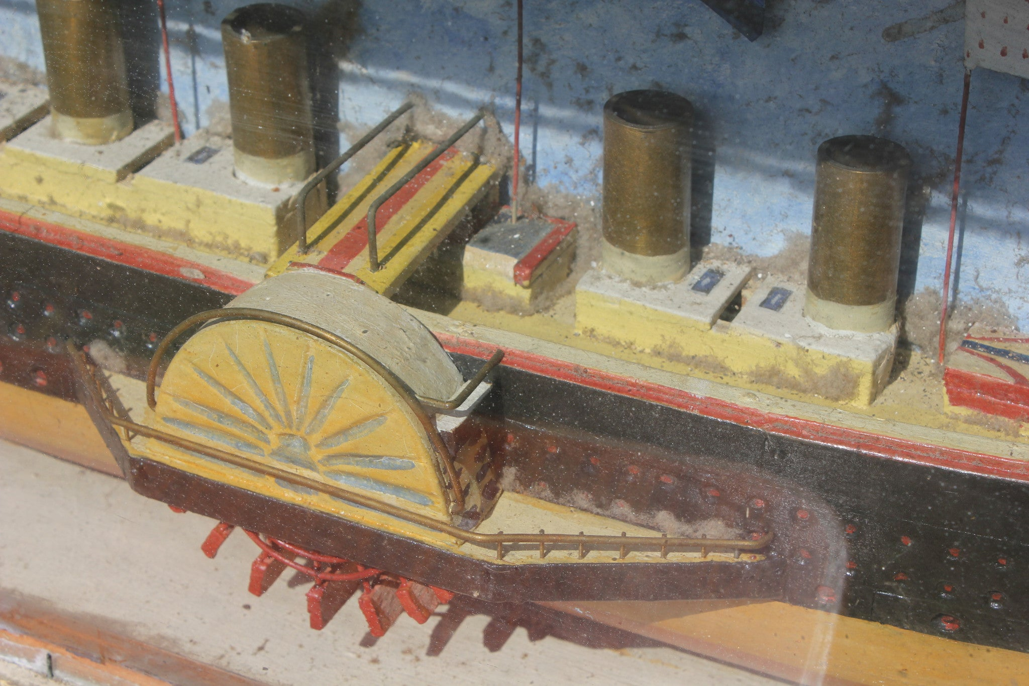 Isambard Kingdom Brunel. SS Great Eastern, Victorian half block model c-1859