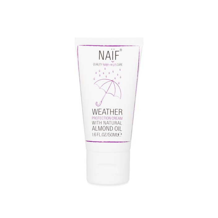 Naif - weer en wind cream