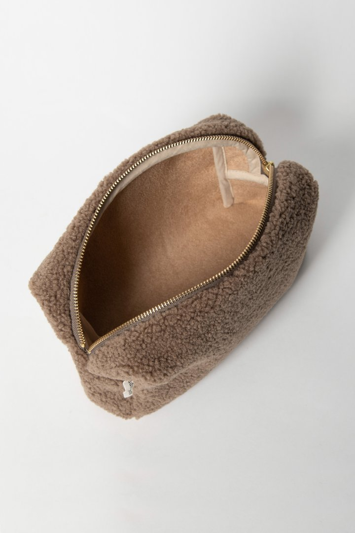 "Studio Noos - Pouch ""Chunky brown"""