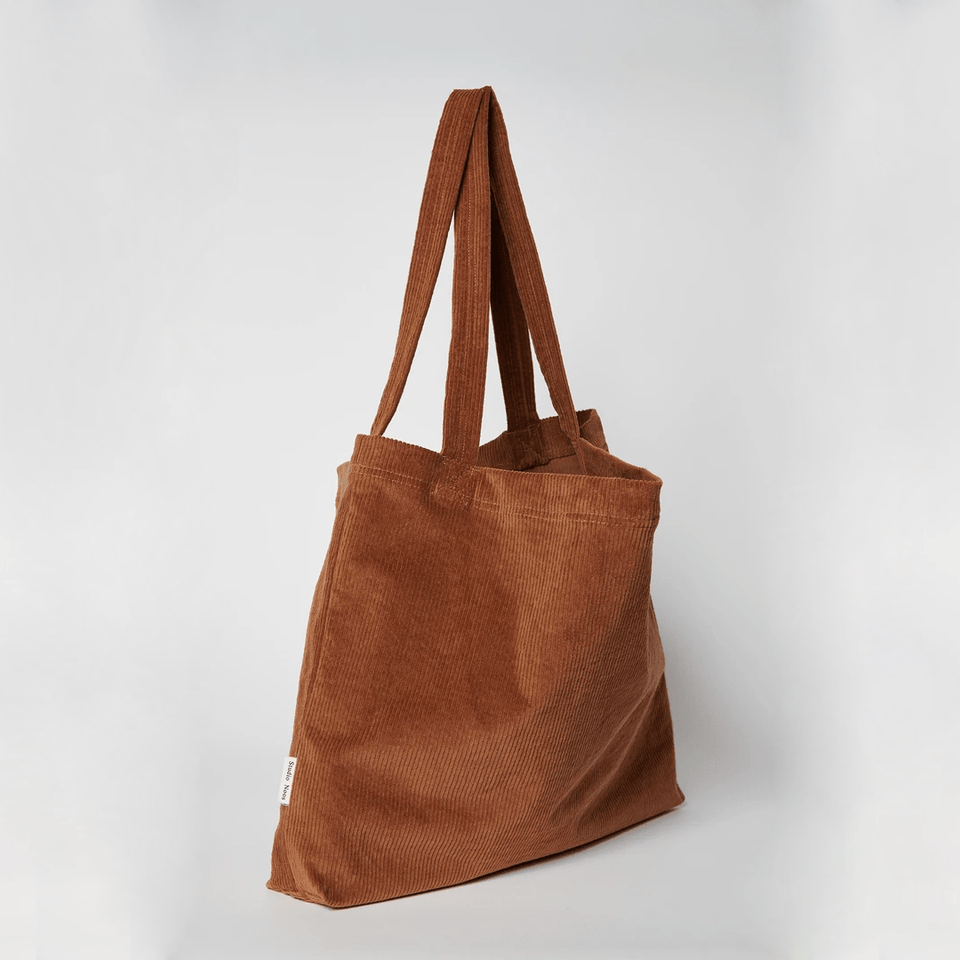 Mom bag - Brown-ie rib
