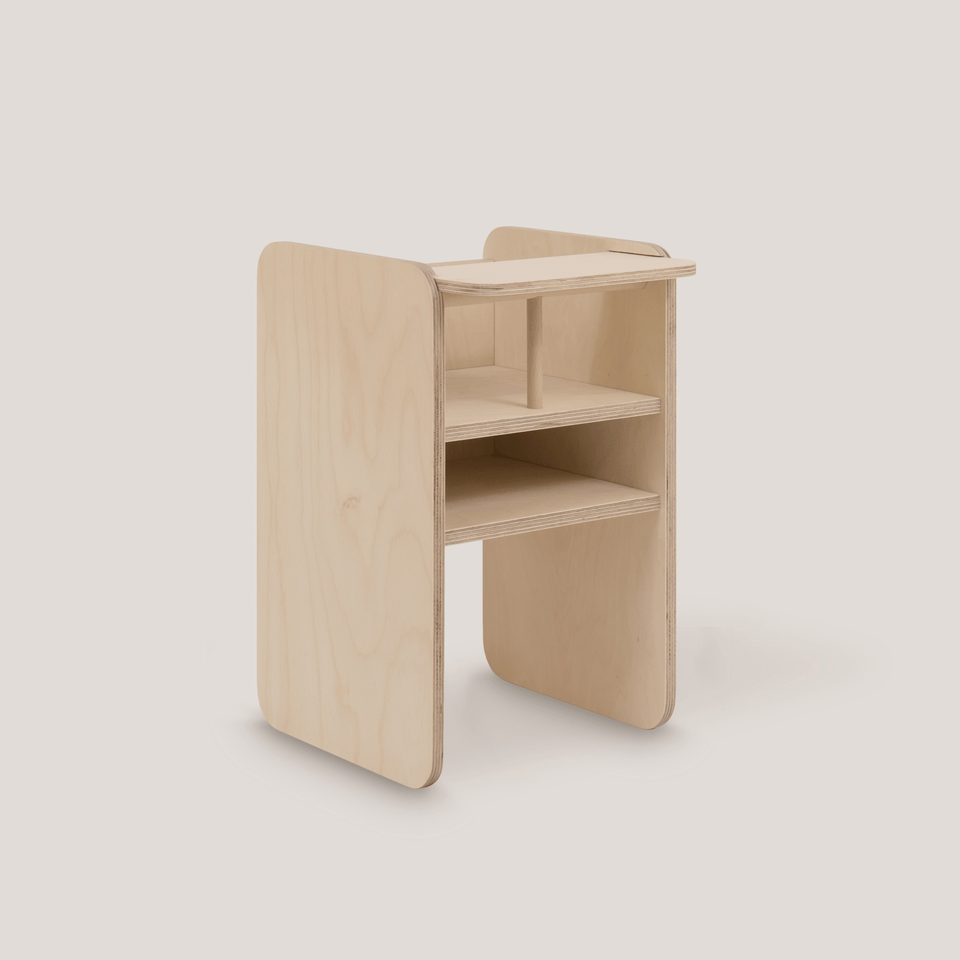 Tré Timber - SJÓ highchair - Leiff.com
