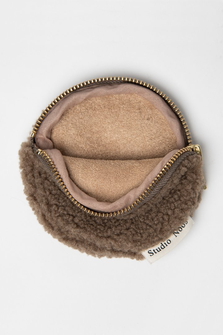 "Studio Noos - Wallet ""Brown Chunky"" - Leiff.com"