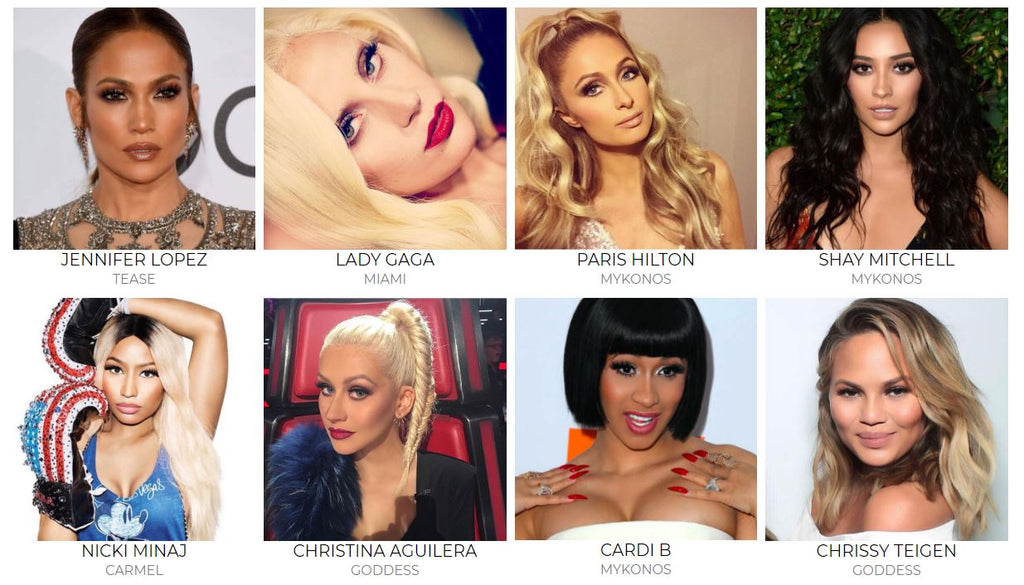4ff21067300 Hollywood's Biggest Stars wearing their Lilly Lashes