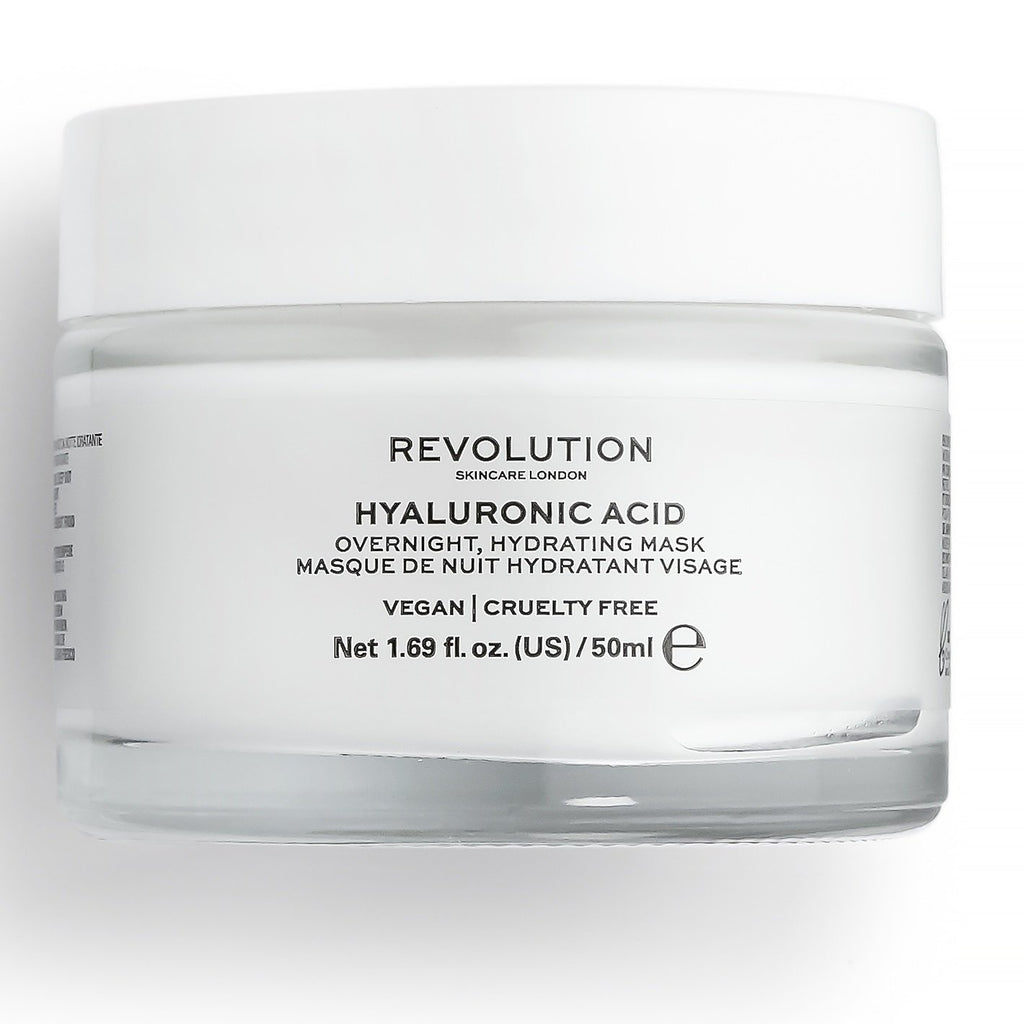 REVOLUTION SKINCARE Hyaluronic Acid Overnight Hydrating Face Mask