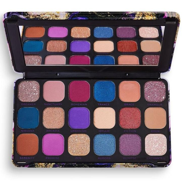 MAKEUP REVOLUTION Forever Flawless Eyeshadow Palette - Eutopia