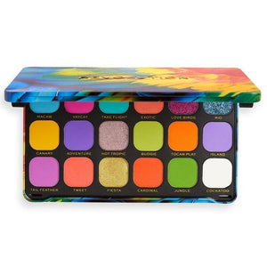 MAKEUP REVOLUTION Forever Flawless Eyeshadow Palette - Bird of Paradise