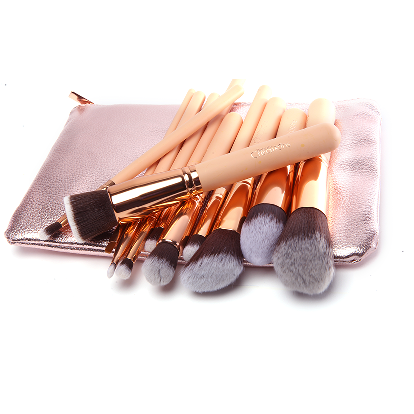 BEAUTY CREATIONS 12 Piece Ballerina Rose Gold Brush Set