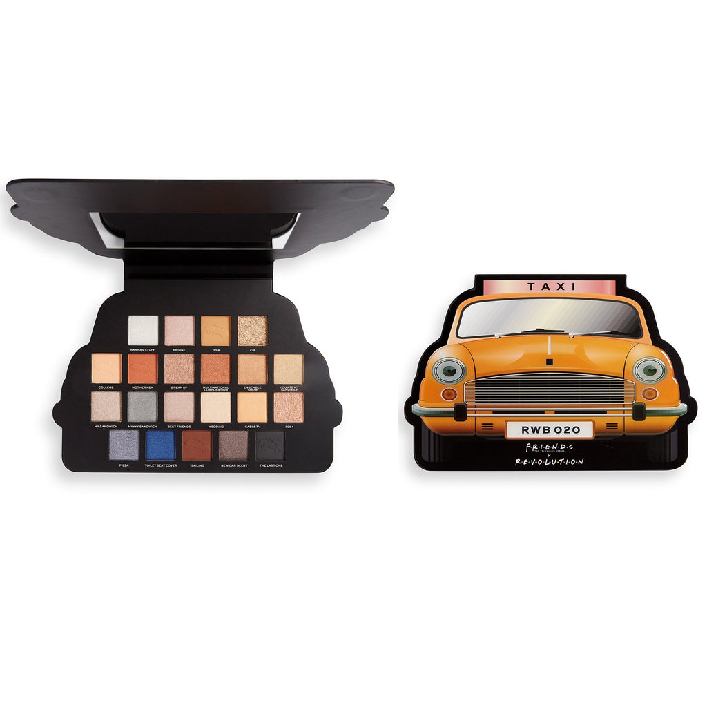 MAKEUP REVOLUTION X Friends Take A Drive Eyeshadow Palette