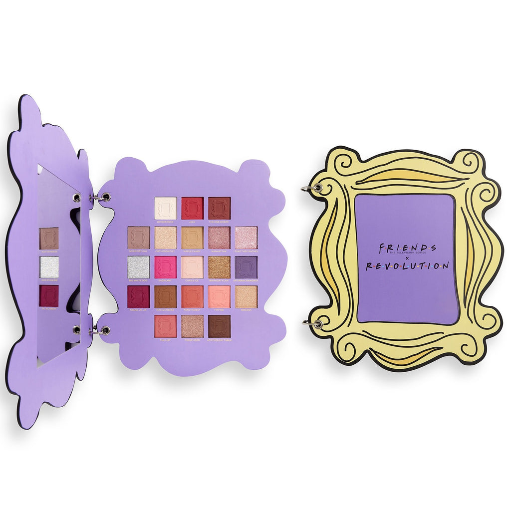 MAKEUP REVOLUTION X Friends Open The Door Eyeshadow Palette