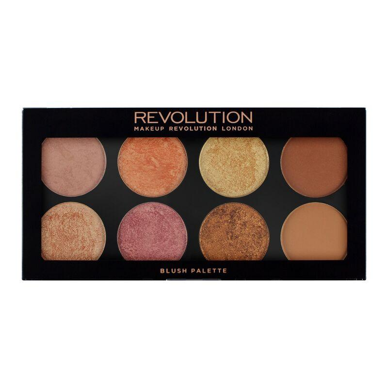 MAKEUP REVOLUTION Ultra Blush Bronze & Highlight Palette - Golden Sugar 2